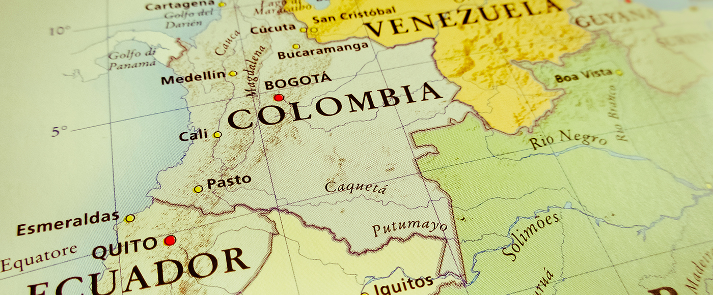 Colombia: Land of flowers